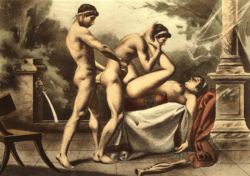Эротика и секс в древнем риме