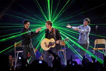 Juanes, Alejandro y Dani