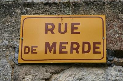 Rue de Merde