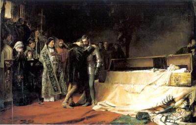 Conversión del duque de Gandía, de José Moreno Carbonero