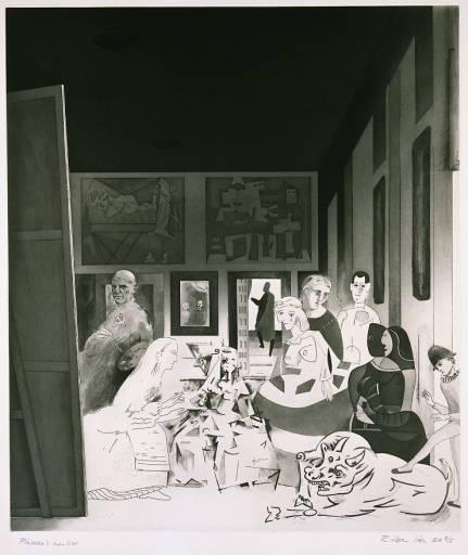 Meninas de Picasso, Richard Hamilton 1973