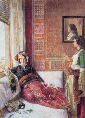 JF Lewin Harem life in Constantinopla