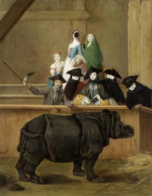 Il rinoceronte de Pietro Longhi