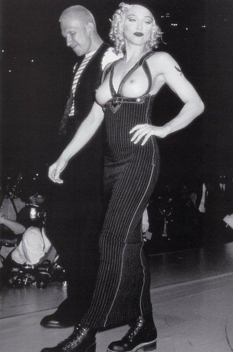 Madonna y Jean Paul