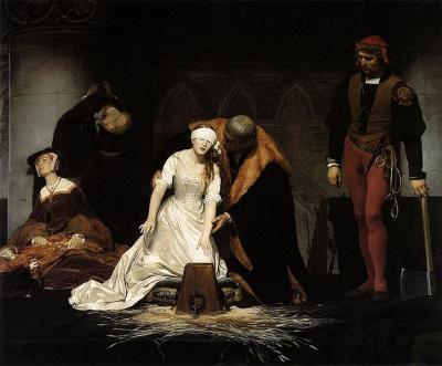 La ejecución de Jane Grey, de Paul Delaroche