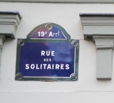 Rue des solitaires