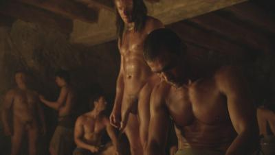 Mike Edwards en Spartacus
