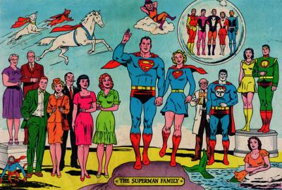 The Superman family