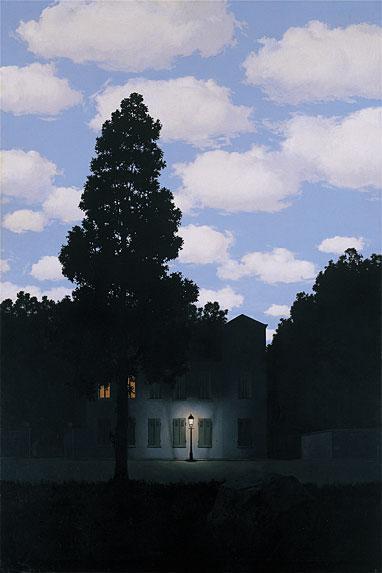 L'empire des lumières de René Magritte
