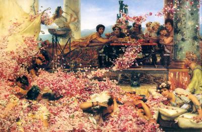 The Roses of Heliogabalus de Alma Tadema