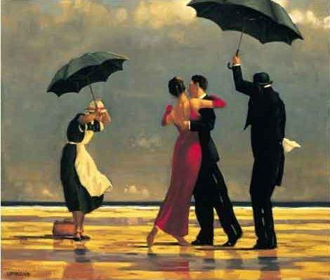 The Singing Butler, de Jack Vettriano