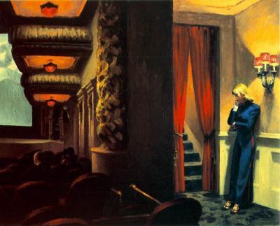New York Movie de Edward Hopper