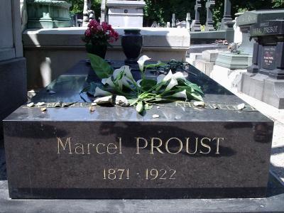 La tumba de Proust