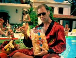 Rocco Siffredi, censurado por unas patatas fritas