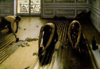 Raboteurs des parquets de Gustave Caillebotte