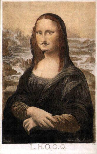 Mona Lisa de Duchamp