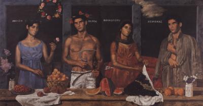 Las Cuatro Estaciones de Yannis Tsarouchis