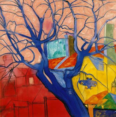 The Oak Tree de R.B.Kitaj