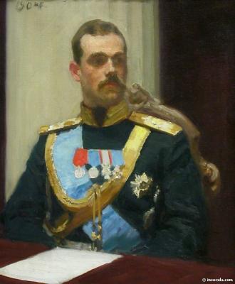 Le Grand-Duc Mikhail Alexandrovitch de Ilia Efimovitch Répine