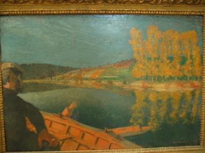 Le passeur de Edouard Vuillard
