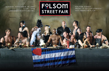 Folsom street fair gay porn