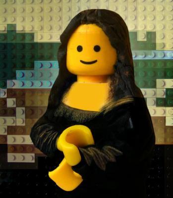 Mona Lisa Lego