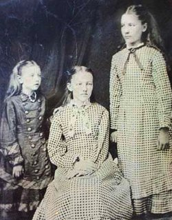 Laura, Mary y Carrie Ingalls