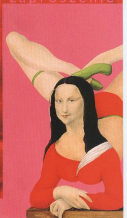 Mona Lisa rosa