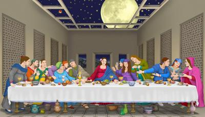 'The-Last-Supper'-A-Moment-Before-The-Dawn-on-a-New-World