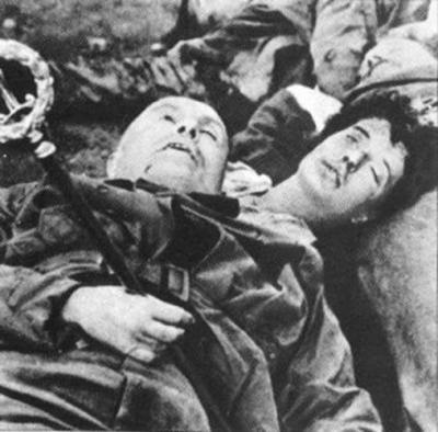 Muerte de Mussolini 1