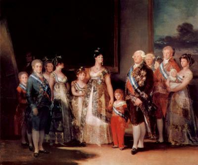 La familia de Carlos IV de Francisco de Goya