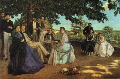 Reunión de familia de Bazille