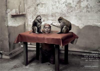 Humanos por animales 1
