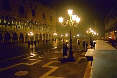 Lateral Plaza de San Marcos en Venecia