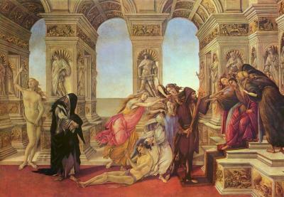 La calumnia de Botticelli
