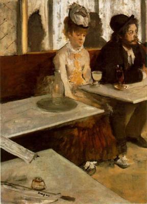 La absenta de Degas