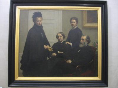 La familia Dubourg de Fantin Latour
