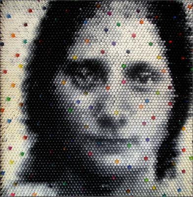 Cristina Faur -con crayones-