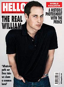 Principe Guillermo fotografiado por un rehabilitado