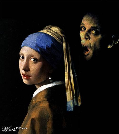 La joven de la perla y Nosferatu