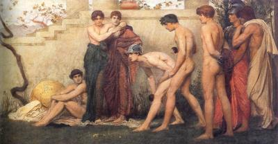 The Bowlers de William Blake Richmond