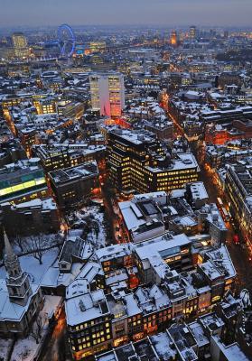 Londres a vista de pájaro