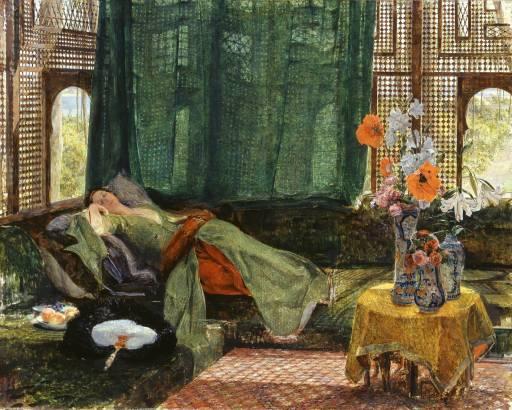 The Siesta de John Frederick Lewis