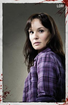 Sara Wayne en The walking dead