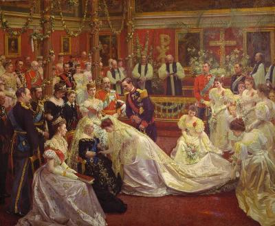 Princesa Maud y Haakon VII
