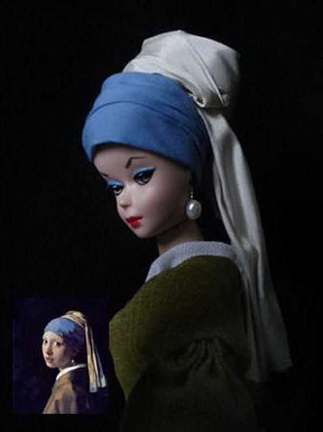 Barbie de la perla