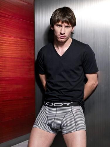 Leo Messi también accede a encalzoncillarse por dinero