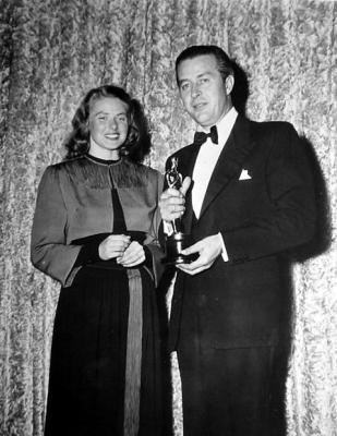Bergman y Milland