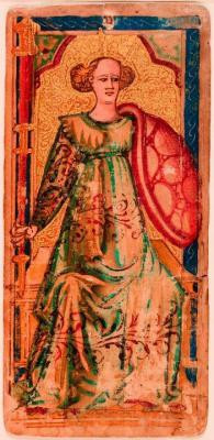 La Dame de Bâtons 1460