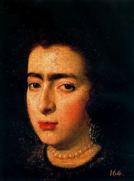Cabeza de dama, Velazquez